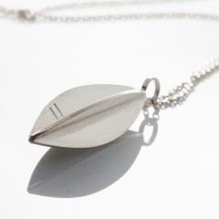 Pendel navett - silver