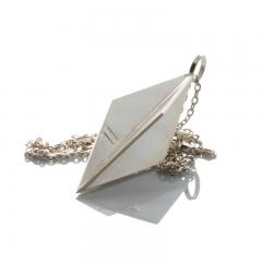 Pendel prisma - silver