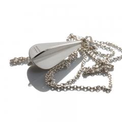 Pendel droppe - silver